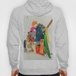 Sunset Mountain Paper Pile Hoody