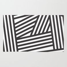 Black Stripes Rug