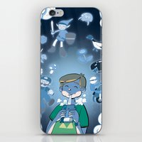 video games iPhone & iPod Skins featuring Classic Video Games by Scott Hallett