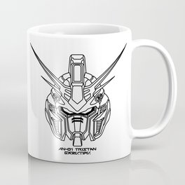 Tristan from Twilight Axis lineart B Coffee Mug