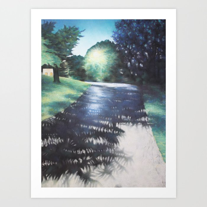 Blue Hour 2 Art Print