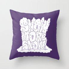 sNOw More Snow! Throw Pillow