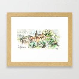 Navarrete, Camino de Santiago Framed Art Print