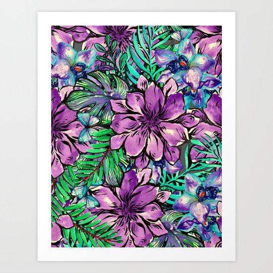 My Tropical Garden 4 Art Print