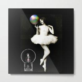 Buster & the Ballet Dancer Metal Print