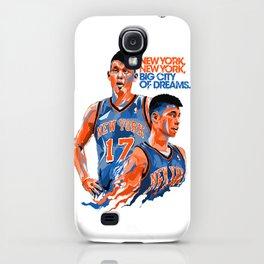 Jeremy Lin: New York, New York, Big City of Dreams. iPhone Case