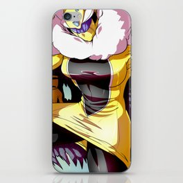 Electrifying Gold Queen iPhone Skin