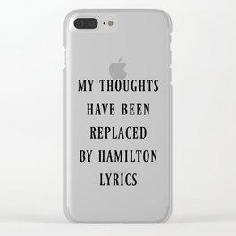 hamilton Clear iPhone Case