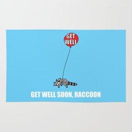 Get Well Soon, Raccoon Rug