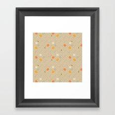 Pastel Square Framed Art Print