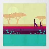 safari Canvas Prints featuring Safari by Kakel