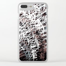 echo chamber Clear iPhone Case