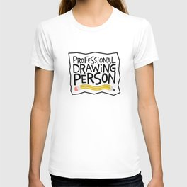 professional drawing person T-shirt