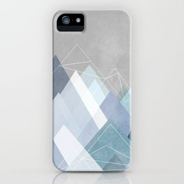 Graphic 107 X Blue iPhone Case