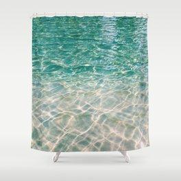 magic water Shower Curtain