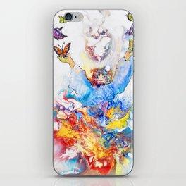 The Butterfly Deva iPhone Skin