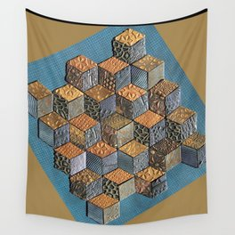 Tumbling Blocks #5 Wall Tapestry