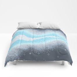 Demiboy Pride Flag Galaxy Comforters