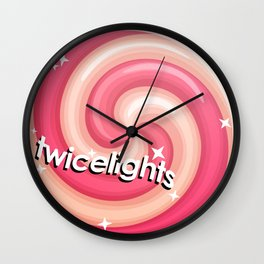Twicelights Wall Clock