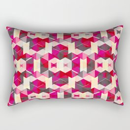 El Mono Rojo Rectangular Pillow