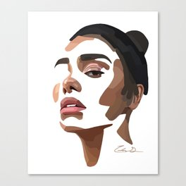 Minimal Breaths Canvas Print