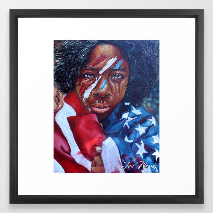Dear America II Framed Art Print