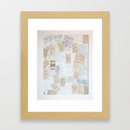 Reading 1. c) Framed Art Print