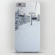 Skiing Vermont iPhone 6 Plus Slim Case