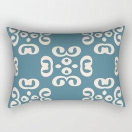 Modern design ornament with fashion beautiful patterns in vintage style Rectangular Pillow
