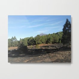 el Teide - Tenerifa Metal Print
