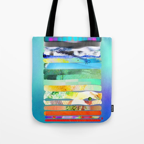 COLLAGE LOVE - a Princess and a pea  Tote Bag