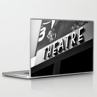 theatre Laptop & iPad Skins featuring Theatre Sign by Griffin Lauerman