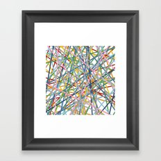 Kerplunk Extended Framed Art Print