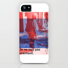 I Don't Know What To Say iPhone Case