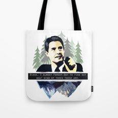 Agent Coop Tote Bag