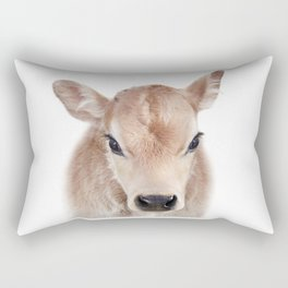 Calf Art Print by Zouzounio Art Rectangular Pillow