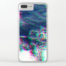 Oceanic Glitches - Pale Waves Clear iPhone Case