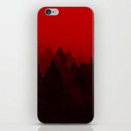 red dawn iPhone Skin