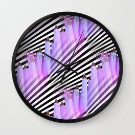 pencil pattern -3- Wall Clock