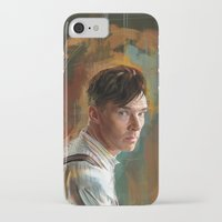 cumberbatch iPhone & iPod Cases featuring B. Cumberbatch by Wisesnail