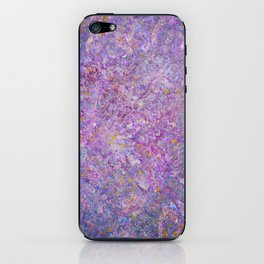 Lavender Haze Abstract Painting  iPhone Skin