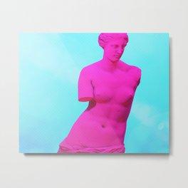 Ultraviolet /// Venus Metal Print
