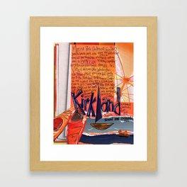Kirkland Washington Framed Art Print