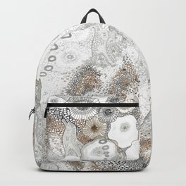"""Gray"" illustration Backpack"