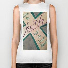 Walk By Faith Biker Tank