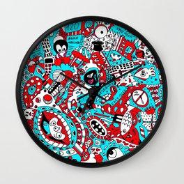 Doodlez Wall Clock