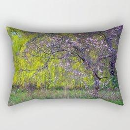 influence: monet Rectangular Pillow