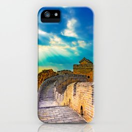 Simatai West Great Wall iPhone Case