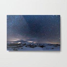 winter night #society6 #decor #homedecor #buyart Metal Print