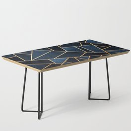 Navy Stone Coffee Table